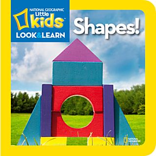 View National Geographic Little Kids Look and Learn: Shapes! image