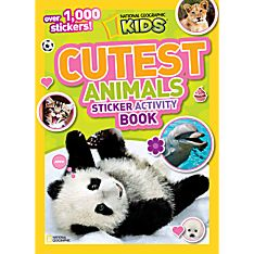 National Geographic Kids Cutest Animals Sticker Activity Book