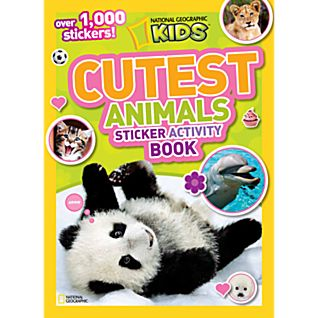 View National Geographic Kids Cutest Animals Sticker Activity Book image