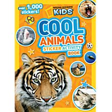 Kids Cool Animals Sticker Activity Book, 2013