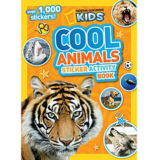 View National Geographic Kids Cool Animals Sticker Activity Book image