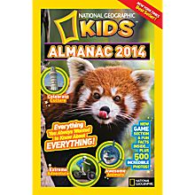 National Geographic Kids Almanac 2014 - Softcover