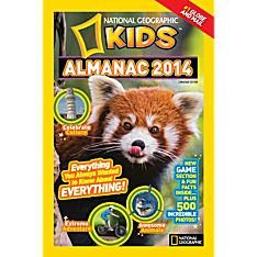 Almanac 2014 Map of the World