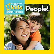 National Geographic Little Kids Look and Learn: People!