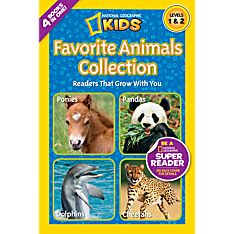 National Geographic Readers: Favorite Animals Collection
