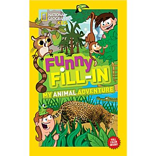 View National Geographic Kids Funny Fill-in: My Animal Adventure image