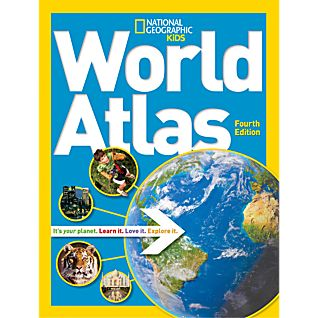 View National Geographic Kids World Atlas, 4th Edition - Softcover image
