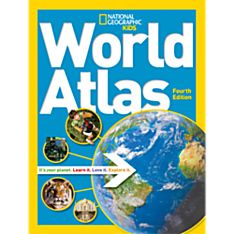 Kids World Atlas, 4th Edition - Hardcover, 2013