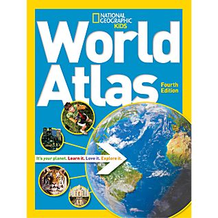 National Geographic Kids World Atlas, 4th Edition - Hardcover