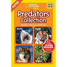 National Geographic Readers: Predators Collection