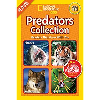 View National Geographic Readers: Predators Collection image