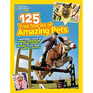 View National Geographic Kids 125 True Stories of Amazing Pets image