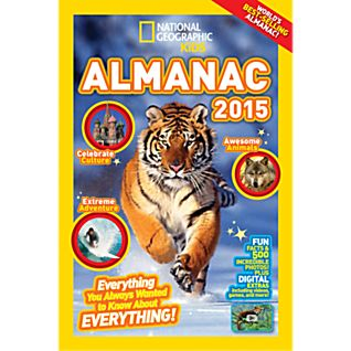 View National Geographic Kids Almanac 2015 - Hardcover image