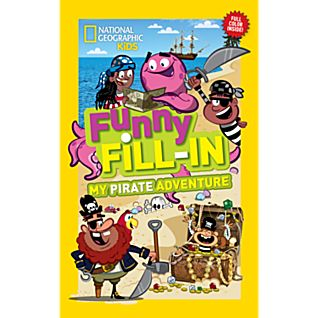 View National Geographic Kids Funny Fill-in: My Pirate Adventure image