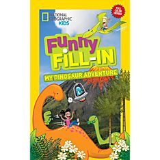 Kids Funny Fill-In: My Dinosaur Adventure, 2014