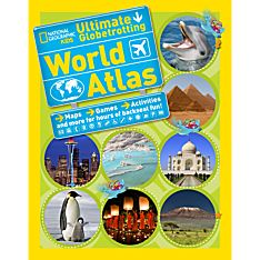 Ultimate Globetrotting World Atlas, Ages 10 and Up