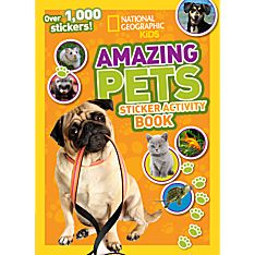 Kids Amazing Pets Sticker Activity Book, 2014