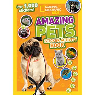 View National Geographic Kids Amazing Pets Sticker Activity Book image