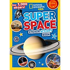 Kids Super Space Sticker Activity Book, 2014