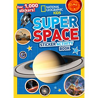 View National Geographic Kids Super Space Sticker Activity Book image