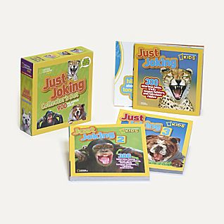 National Geographic Kids: Just Joking Collector's Set