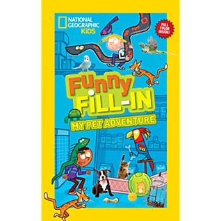 View National Geographic Kids Funny Fill-in: My Pet Adventure image