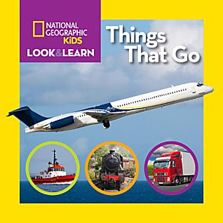 View National Geographic Kids Look And Learn: Things That Go image