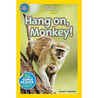 View National Geographic Readers: Hang On Monkey! image