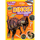 National Geographic Kids Dinos Sticker Activity Book