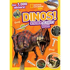 Kids Dinos Sticker Activity Book, 2014