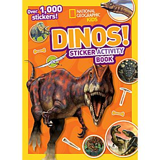 View National Geographic Kids Dinos Sticker Activity Book image