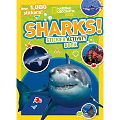 Kids Sharks Sticker Activity Book, 2014