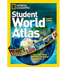 Kids Student World Atlas, 4th Edition, Ages 12 and Up