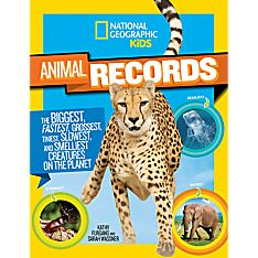 Kids Animal Records, Ages 8-12