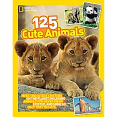 125 Cute Animals, Ages 8-12
