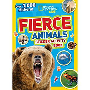 View National Geographic Kids Fierce Animals Sticker Activity Book image