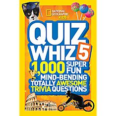 National Geographic Kids Quiz Whiz 5