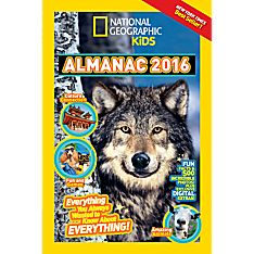 Kids Almanac 2016 - Hardcover, Ages 8-12