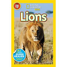 Books About Lions for Kids