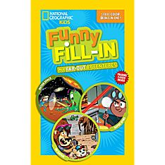 Kids Funny Fill-In: My Far-out Adventures, Ages 8-12