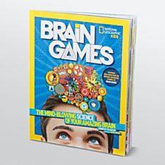 Kids Brain Games, Ages 8-12