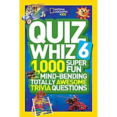 Kids Quiz Whiz 6, Ages 8-12
