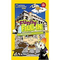Kids Funny Fill-In: My Mythology Adventure, Ages 8-12