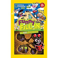 Kids Funny Fill-In: My Bugs Adventure, Ages 8-12