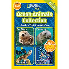 Readers: Ocean Animals Collection, Ages 4-6