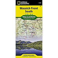 701 Uinta National Forest Trail Hiking Map