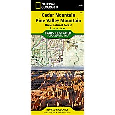 702 Cedar Mountain/Pine Valley Mountain Trail Map