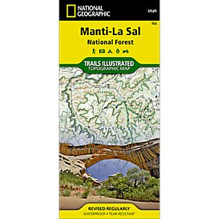 National Geographic Manti-LaSai National Forest Trail Map