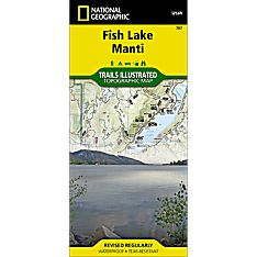 707 Fish Lake North/Capitol Reef Trail Map