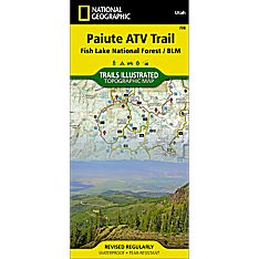 708 Paiute ATV Trail Map
